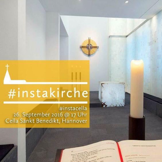 Herzliche Einladung! Instawalk durch die Klosterkirche und angrenzende Räume in der Cella in Hannover Voßstraße 36 am: 26.9.2016 um. 17.00. Anmeldung über cella-sankt-benedikt.de oder über DM via Instagram. #hannoverliebt #hannoverstagram #hannover #hannover96 #hannoveraner #cella #kirchehoch2 #instakirche #instacel