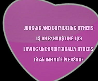 Judging & criticizing