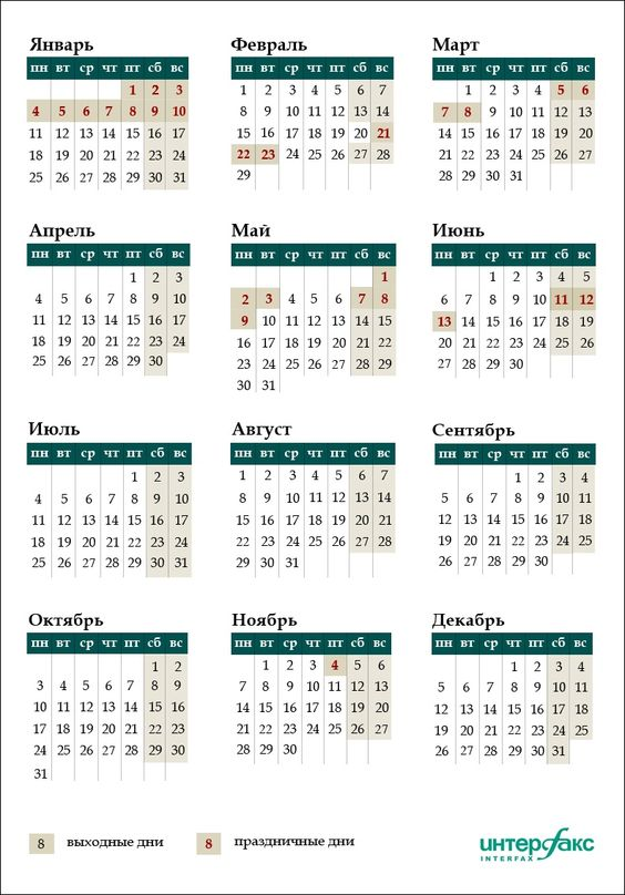Январские каникулы в 2016 году продлятся 10 дней, россияне получат дополнительные выходные и в марте, а в феврале будет перенос выходных