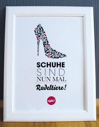 Schuhe sind nun mal Rudeltiere!  von FORMART-Zeit-für-Schönes