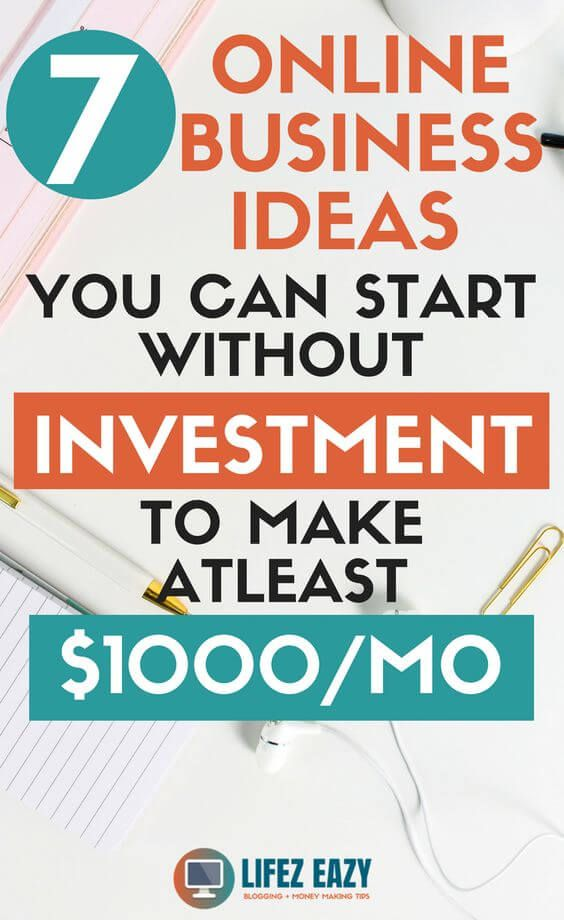 8 Best Online Business Ideas Without Investment Start Online
