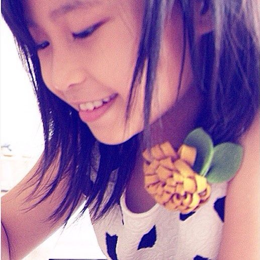 This girl 😚🌷☀️ #beyourself #girlpower #smilealways