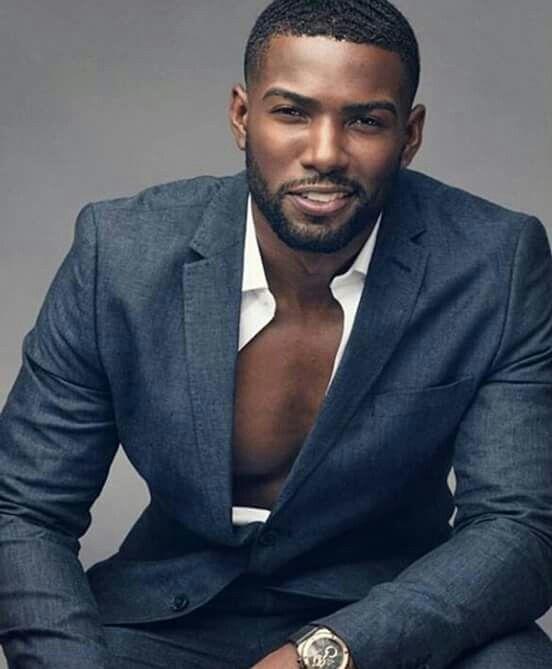 Beautiful chocolate man!!