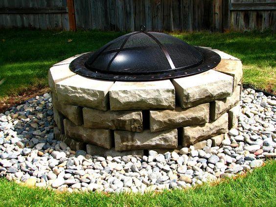 Fire pit ideas cheap new ideas diy firepit do it for Do it yourself fire pit ideas