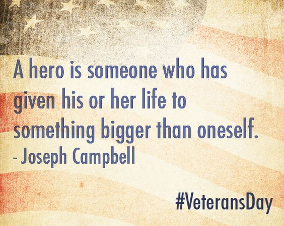 Thankful for those who have served. #hero #veteran #quote