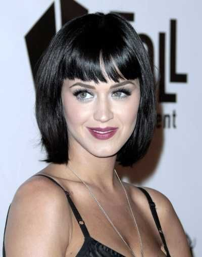 Katy Perrys long bob hairstyle with bangs!: Short Bob Hairstyles, Celebrity Hairstyles, Short Hairstyles, Katy Perry, Hairstyles With Bangs, Hair Style, Short Bangs Hairstyles, Haircut, Long Bob Hairstyles