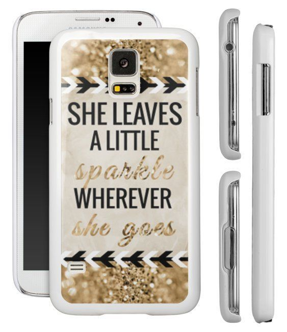 SHE LEAVES A LITTLE SPARKLE WHEREVER SHE GOES Samsung Galaxy S5 S4 S3 Phone Case #UnbrandedGeneric