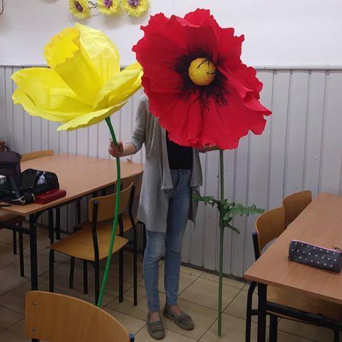 Znalezione Obrazy Dla Zapytania Wielki Kwiat Z Bibuly Diy