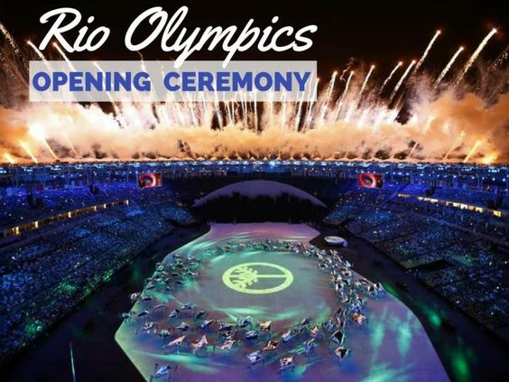 Highlights from the Rio Olympics Opening Ceremony.