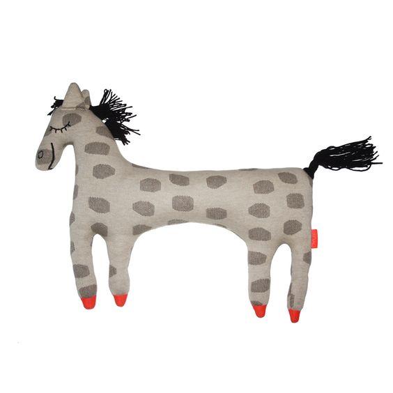 Stofftier PIPPI das Pferd von OYOY  OYOY, Kids, Baby, Stofftier, Pferd, Schimmel, Kissen, Gestrickt, Kinderkissen, Pferdekissen, Tierkissen, Stofftierkissen, Wohnen, Living, Pippi, Langstrumpf