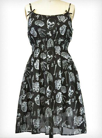 X-Ray Baby Doll Dress | PLASTICLAND
