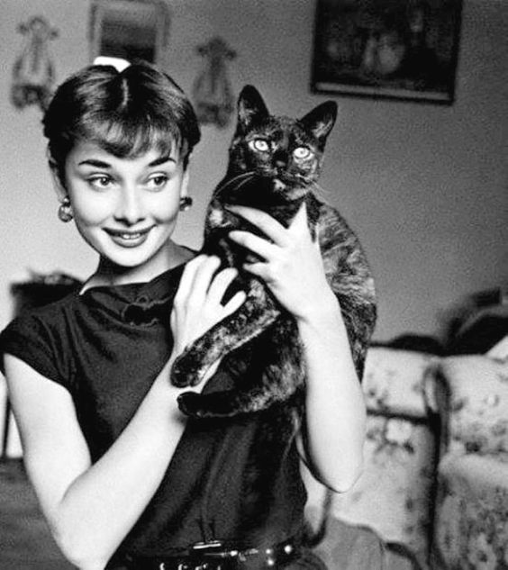 We Had Faces Then — Audrey Hepburn, 1954