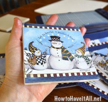 Tile Coasters Tile And Ceramics On Pinterest
