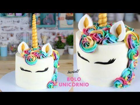 Bolo Unicornio Como Fazer Bolo Unicornio Cakepedia Youtube