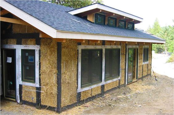 How Straw Bale Houses Work Design Home Improvements And