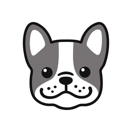 30++ French bulldog face clipart information