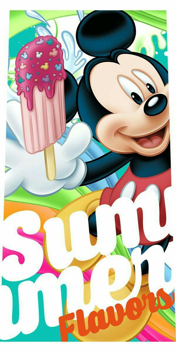 Mickey Mouse 🌴🍦🌴🌞🌴