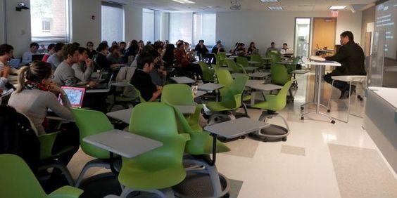 Le pari américain gagné de Skema Business School  Reportage à Raleigh, le campus ouvert en2011 en Caroline du Nord par l'école de commerce française. Ses 900étudiants, dont 40% de Français, peuvent y décrocher des diplômes américains.
