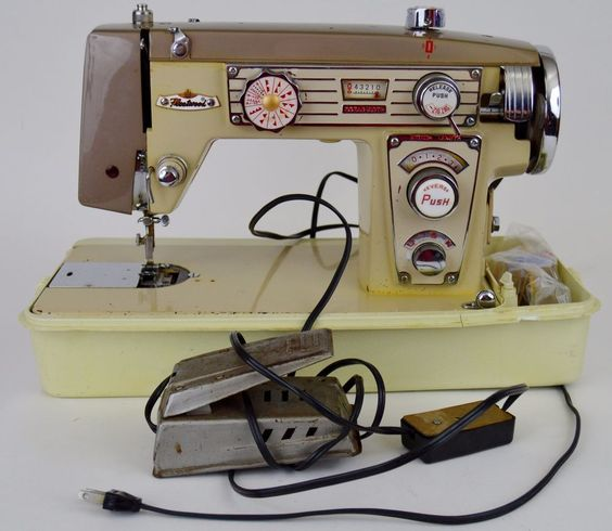 fleetwood deluxe sewing machine