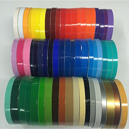 Oracal 651 Vinyl Pinstriping Tape Vinyl Pinstriping Lines Stickers Striping 1 4 1 2 3 4 Https Automotive Bou Pinstriping Tape Oracal Vinyl Oracal
