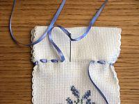 comment faire un sachet de lavande + un ruban