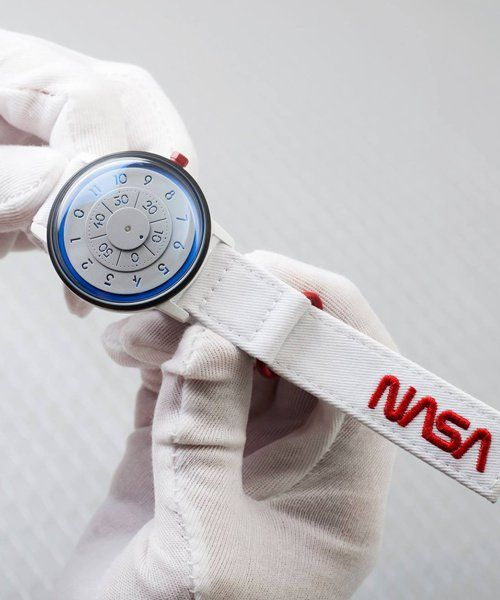 limited edition NASA watch celebrates 60th anniversary