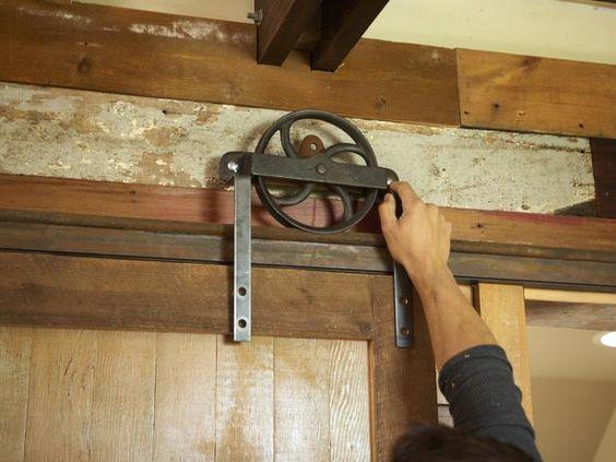barn door floor guide home depot