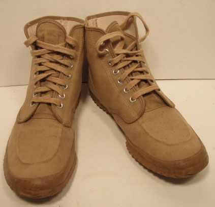 vintage ll bean canvas boots they made these from at