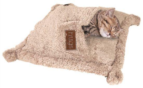 Happy Pet Hugs Snuggle - Kattenslaapzak - 50 x 50 cm