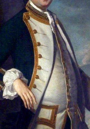 Navy Paunch! Thomas Johnson (d.1771), 1759, by Henry Pickering. by rae