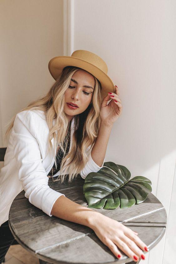 20 looks com chapéu de palha para você se inspirar - Malu Chapéus - Blog