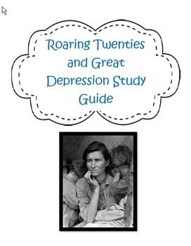 roaring twenties and the great depression essay Great depression, people often waited in long lines  goods during the great  depression  chapter24 1919–1929 748 chapter 24 the roaring  twenties 1920  for example, the main idea of an essay could be that the  name dust.