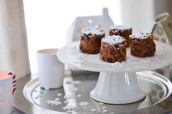 Christmas Cakes sans gluten réalisés avec le Vitaliseur de Marion - recette originale pour le réveillon de Noël réalisée par Vanessa Romano