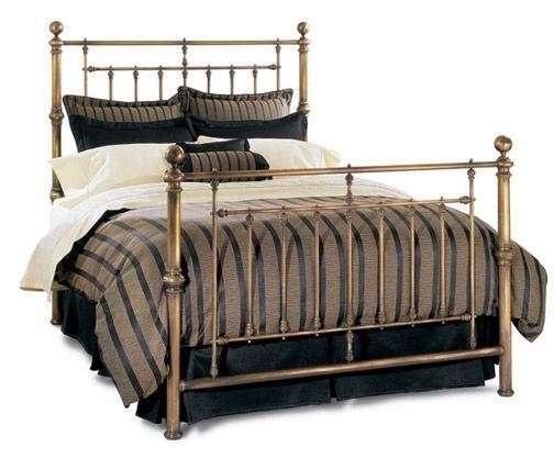 hyde park brass bed