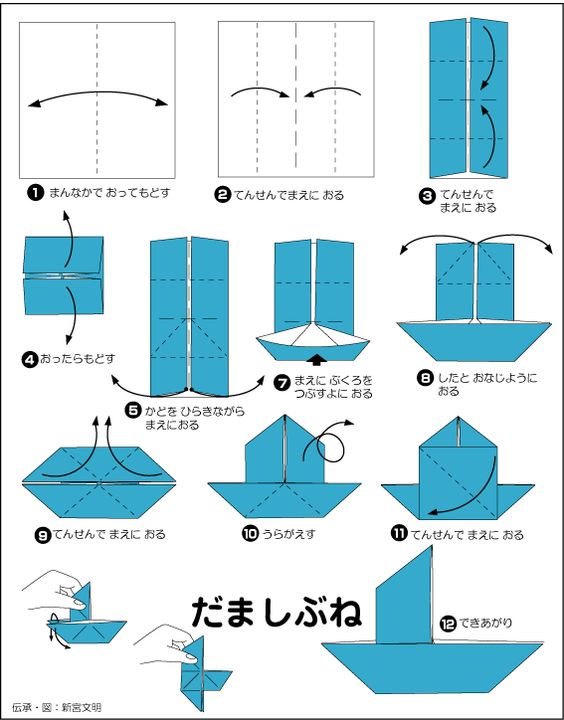 ハート 折り紙 折り紙 ます : pinterest.com