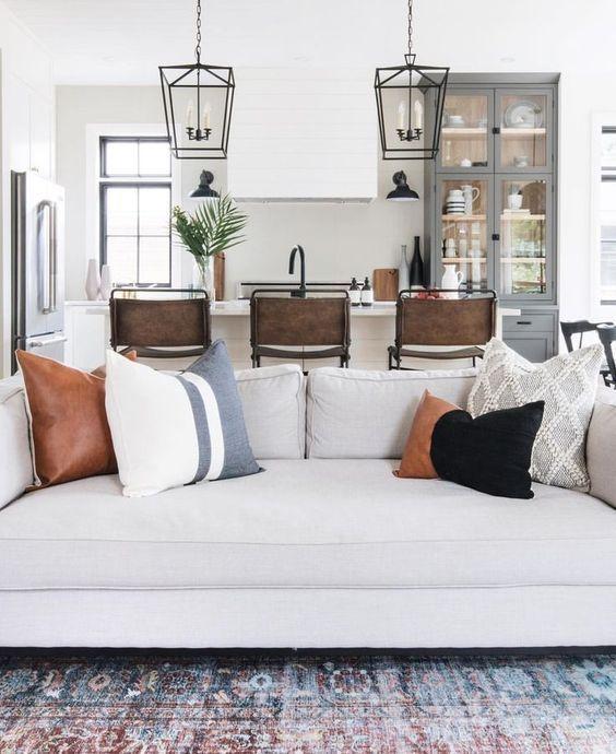 Couch Pillow Ideas Forthehome Homedecor Farm House Living Room Modern Farmhouse Living Room Farmhouse Style Living Room