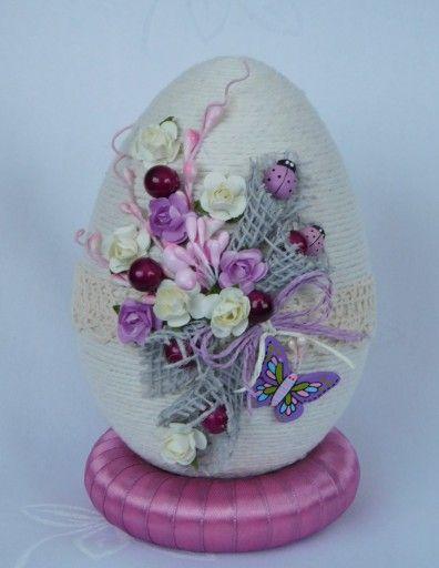 Piekne Jajko Pisanka Ozdoby Wielkanocne Rekodzielo 7165947305 Oficjalne Archiwum Allegro Easter Crafts Easter Projects Egg Crafts