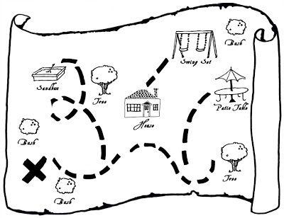 Cria o teu mapa de caça ao tesouro