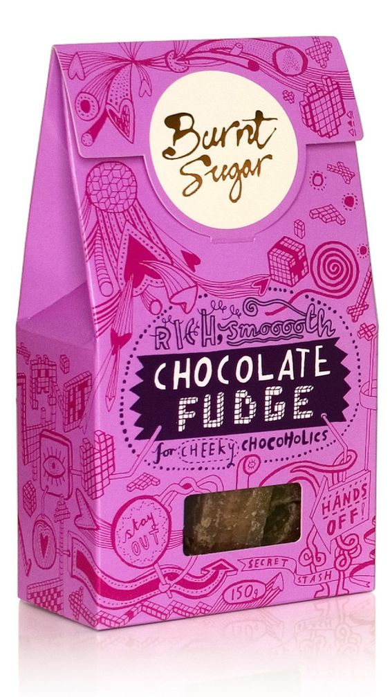 Burnt Sugar packaging by d.studio , via Behance