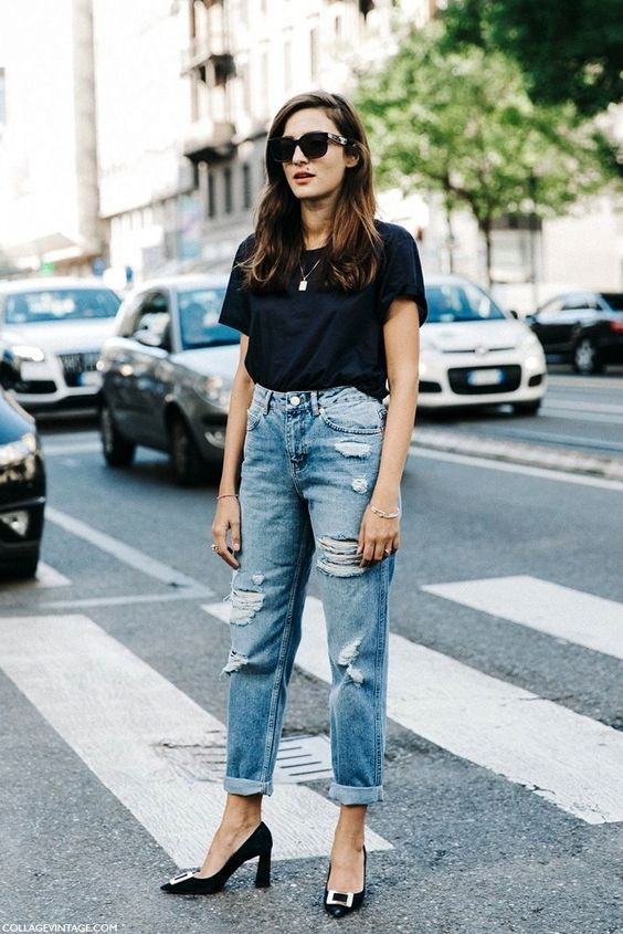 See How This Street Style Star Elevates A Tee And Jeans
