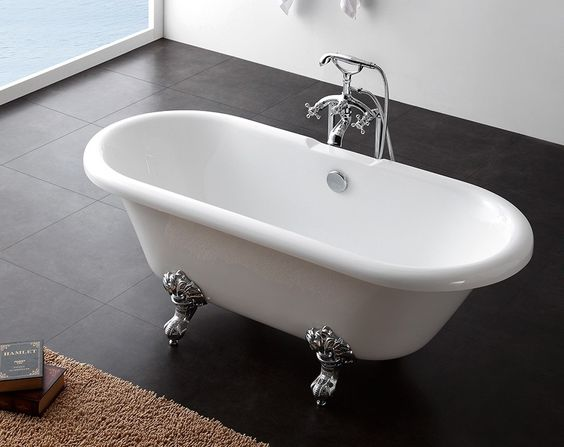 Earl Roll Top Freestanding Bath | Roll Top Baths | Splashdirect