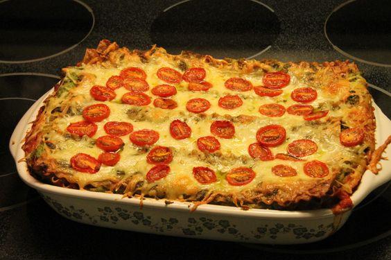 Lasagne végétarienne — Zana cuisine
