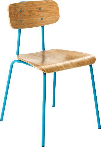 Hester chaise de salle manger existe vert rouge for Salle a manger habitat