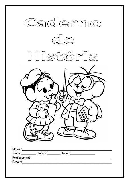 Capas Para Cadernos Turma Da Monica E Calendario Da Monica Para