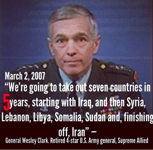 Image result for general wesley clark quote
