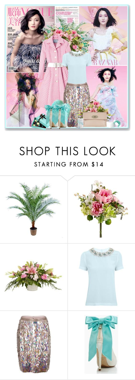"""""""Zhou Xun"""" by glitterbaby77 ❤ liked on Polyvore featuring Tara Jarmon, French Connection, Kate Spade and Mulberry"""