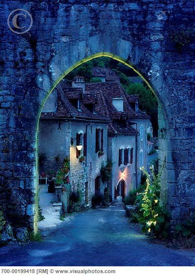 Lapopie, France  Reminds me of a fairy tale