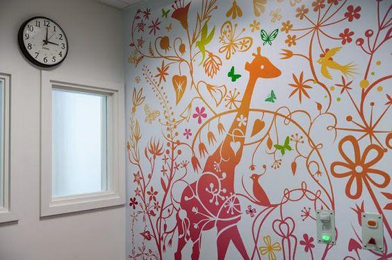 Ideas creativas para decorar la pared decoracion de - Decorar paredes ninos ...