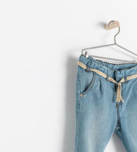 ZARA - ENFANTS - Pantalon fluide