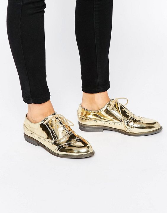 Image 1 of ASOS MAYHEM Brogues